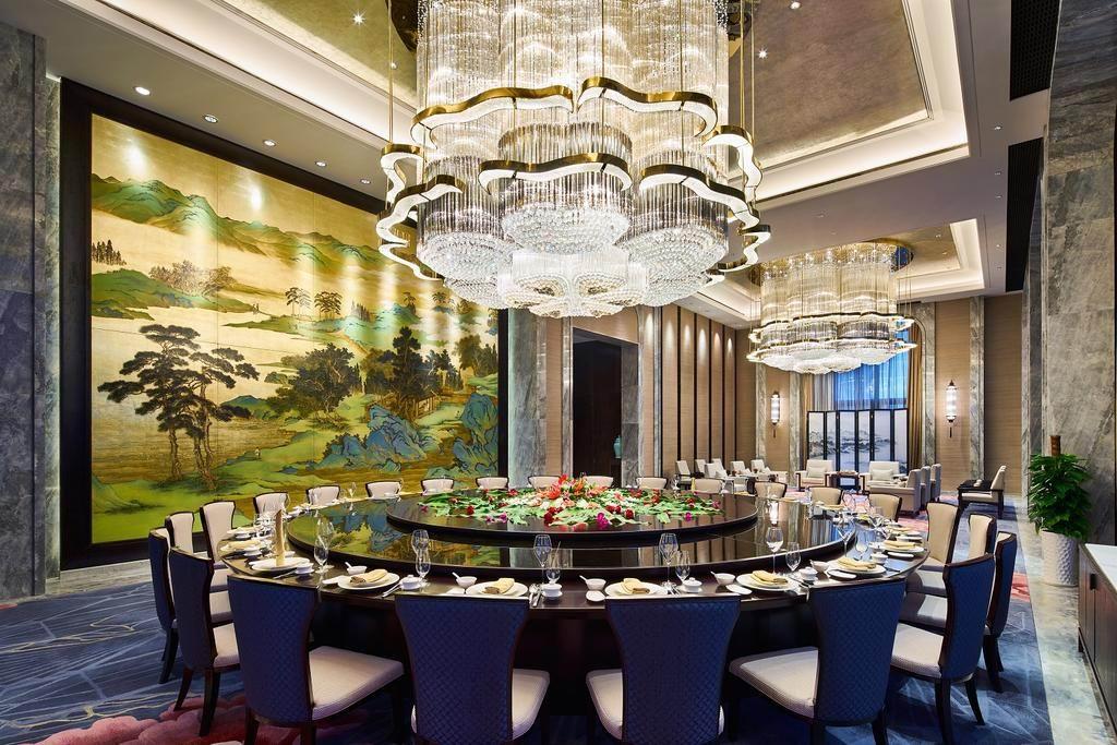 酒店灯饰工程之餐饮照明设计