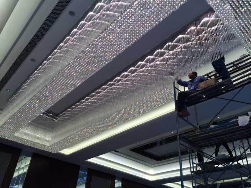 如何安装非标酒店灯饰的呢?
