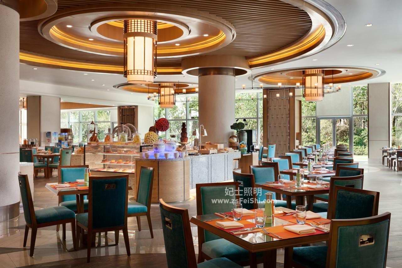 酒店餐厅灯饰2